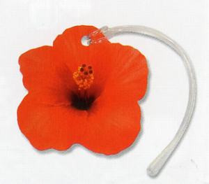 Hibiscus Flower Luggage / ID Tag - 13465000