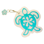 Sea Turtle Theme Embroidered Luggage ID Tag 13574000