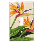 Bird of Paradise Light Switch Cover 19252000
