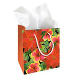 Festive Hibiscus Gift Bag Small 30161001