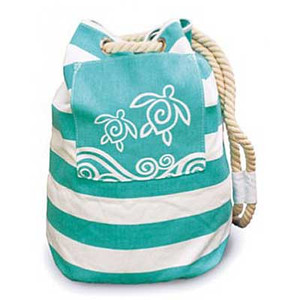Honu Swirl Sea Turtle Sailor Bag 40524000