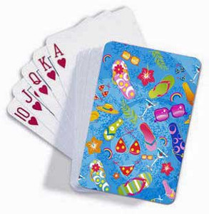 Beach Glam Playing Cards 42090000