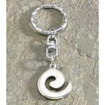Pewter Spiral Keychain 9874583000