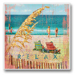Relax at the Beach II - Single Absorbent Coaster - 02-715