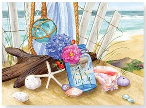 Boxed Note Cards Seaside Gathering 12 Per Box 08-241