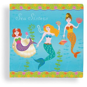 Mermaid Sea Sisters Paper Cocktail Napkins 15-153