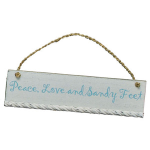Mini Wooden Sign - Peace 18607P