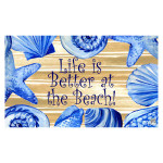 Better at the Beach Welcome Floor Mat 1947M
