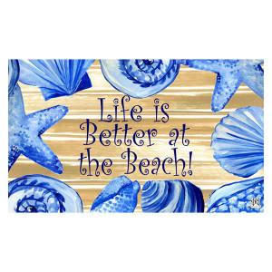 Better at the Beach Welcome Floor Mat 1947M