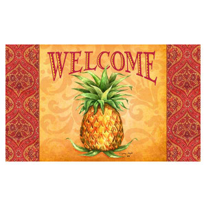 Elegant Pineapple Welcome Floor Mat 1963M