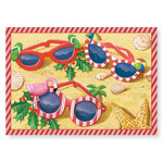 "Christmas Cards ""Festive Sunglasses"" 16 Per Box 25-454"