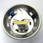 Sailboat Kitchen Sink Strainer - Stainless Steel 30SS