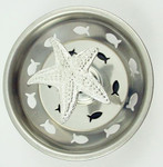 Starfish Kitchen Sink Strainer - Stainless Steel - 38SS