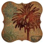 Cork Surface Saver Palm Tree Design Set of Two 3CBT4586
