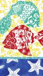Tropical Fish Paper Guest Towels  - 4NG3938
