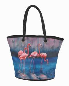 Pink Flamingo Handbag - 70108B