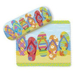 Flip Flop Parade Eyeglass Case with Cleaning Cloth - 804-83