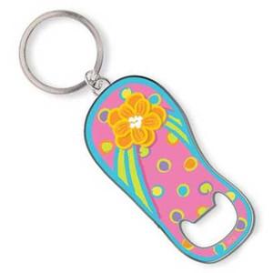 flip flop key ring key chain bottle opener 805 83. Black Bedroom Furniture Sets. Home Design Ideas