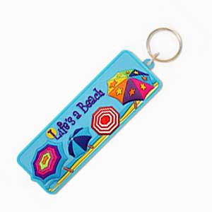 Life's a Beach Key Ring Key Chain - 805-97