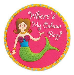 Mermaid Magnet Cabana Boy 829-71
