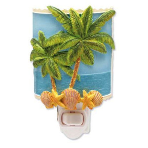 "Palm Tree Night Light ""Sun and Sea"" - 840-67"