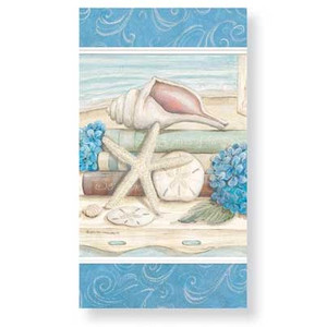Beach Shells of the Sea 30 Pack Guest Towels 848-34