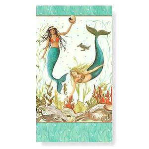 Mermaid Hideaway Paper Guest Towel - Pack of 30 - 848-38