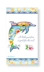 Coastal Daydream Dolphin Shell Paper Guest Towels 30 Pack 848-64