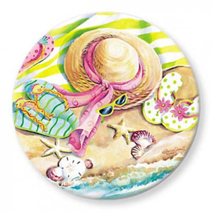 Flip Flops on the Beach Paper Weight 850-82