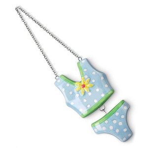 Bathing Suit Ceramic Ornament 869-19