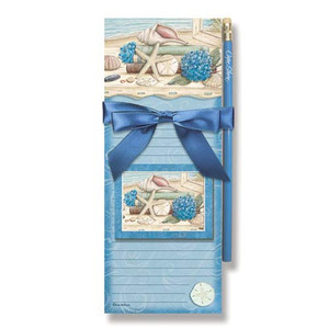 Beach Seashells Magnetic List Pads & Magnet 91-072