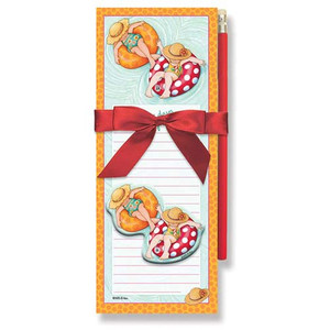 Magnetic Pad Gift Set Mary on Vacation 91-394