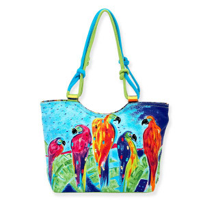 Parrot Perch Medium Scoop Tote Bag AO7252