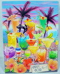 Tropical Drinks Birthday Card - BDG44761