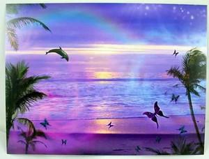"Dolphin Birthday Card ""Purple Ocean Dream"" - BDG44896"