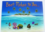 "Tropical Fish Birthday Card ""Best Fishes to You"" - BDG45253"