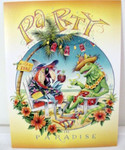 "Parrot Birthday Card ""Party in Paradise"" - BDG45941"