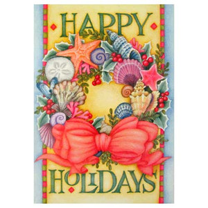 Christmas Cards Happy Holiday 10 Per Box C73332