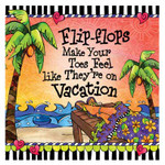 Flip Flops Vacation Paper Cocktail Napkins - CST02200
