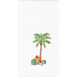 Palm Tree Christmas Hand Towel H0535