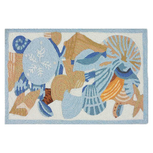 Sea Shells and Sand Dollars- Floor Rug - JB-PB001