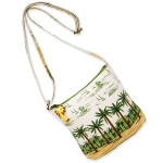 Palm Trees on the Beach Cross Body Tote PB38