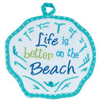 Scallop Beach Theme Pot Holder - R1552