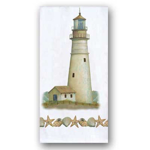 Coastal Lighthouse Flour Sack Towel R2353