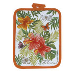 Tropical Hibiscus Flower Pot Holder Hot Pad - R2512