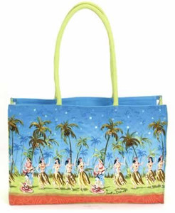 Aloha Paradise Medium Tote Bag -  HD7552