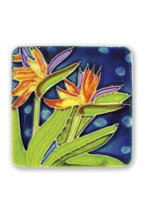 Bird of Paradise Ceramic Magnet - 11160