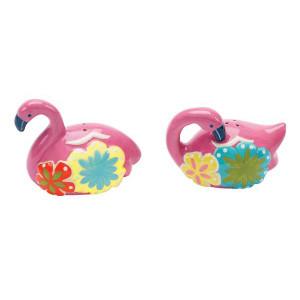 Pink Flamingo Salt & Pepper Shakers - 61701
