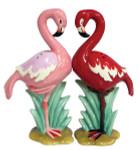 Pink Flamingo Salt Pepper Shakers Set Magnetic - 93921