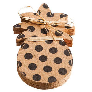Pineapple Cork Surface Saver - Set of Two 3CBT006